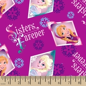 Disney Frozen Badge Fabric