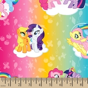 Hasbro Bros. My Little Pony Ombre Fabric