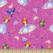 Disney Sofia Friends Fabric