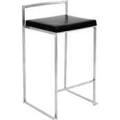 LumiSource Fuji Counter Stool 2 Pk.