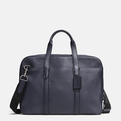 COACH Metropolitan Soft Brief In Refined Pebble Leather