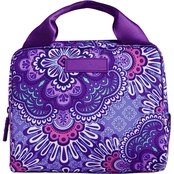 Vera Bradley Lighten Up Lunch Cooler, Lilac Tapestry