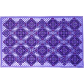 Vera Bradley Throw Blanket, Lilac Tapestry