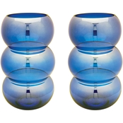 Dimond Home Cobalt Ring Votive Candleholder 2 Pk.