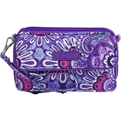 Vera Bradley All In One Crossbody for iPhone 6 Plus, Lilac Tapestry