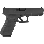 Glock 17 MOS Gen 4 9MM 4.49 in. Barrel 10 Rds 3-Mags Pistol Black