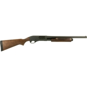 Remington 870 Hardwood 12 Ga. 3 in. Chamber 18.5 in. Barrel 5 Rnd Shotgun Black