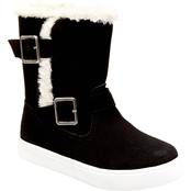 Carter's Toddler Girls Siberia Double Buckle Faux Fur Trimmed Boots