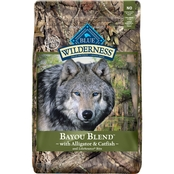 Blue Buffalo BLUE Wilderness Bayou Blend with Alligator & Catfish, 22 Lb.