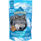 Blue Buffalo BLUE Wilderness Denali Biscuits with Wild Salmon, Venison & Halibut