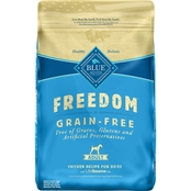 Blue Buffalo BLUE Freedom Grain Free Chicken Recipe for Adult Dogs, 24 Lb.