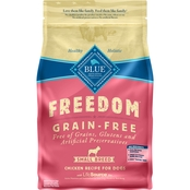 Blue Buffalo BLUE Freedom Grain Free Chicken Recipe, Small Breed Adult Dogs, 4 lb.