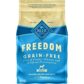 Blue Buffalo BLUE Freedom Grain-Free Chicken Recipe for Adult Dogs, 4 Lb.