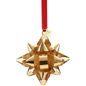 Kate Spade New York Tinsel Topper Gold Bow Ornament by Lenox