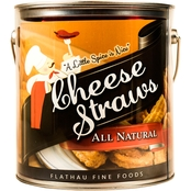 Flathau 16 Oz. Cheese Straws Can