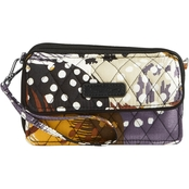 Vera Bradley All In One Crossbody for iPhone 6+, Painted Feathers