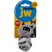 Petmate JW Pet Cataction Plush Catnip Raccoon Cat Toy