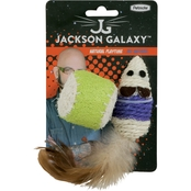 Petmate Jackson Galaxy Natural Playtime Mouse and Ball