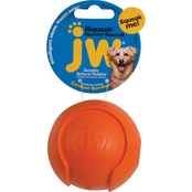 Petmate JW iSqueak Bouncin' Baseball Dog Toy, Medium