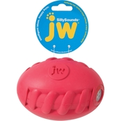 Petmate JW Silly Sounds Toys Spiral Football - Medium