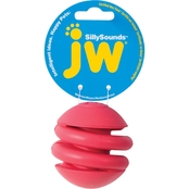 Petmate JW Silly Sounds Spring Ball - Medium