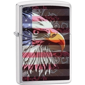Zippo Eagle Flag Lighter