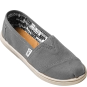 TOMS Girls Alpargata Canvas Shoes