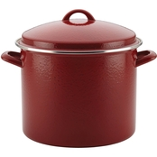 Paula Deen Enamel on Steel Covered Stockpot, 12-Quart