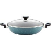 Paula Deen Riverbend Aluminum Nonstick 12.5 in. Chicken Fryer
