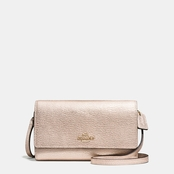 COACH Phone Crossbody in Smooth Leather