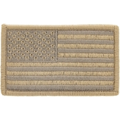 Brigade QM Morale Patch USA Flag Multicam