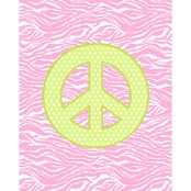 Springs Creative Peace No Sew Micro Fleece Throw Kit