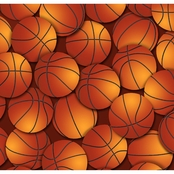 Springs Creative Basketballs No Sew Micro Fleece Throw Kit