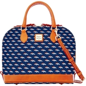 Dooney & Bourke NFL Denver Broncos Zip Zip Satchel