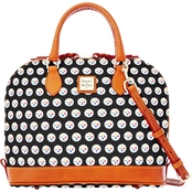 Dooney & Bourke NFL Pittsburgh Steelers Zip Zip Satchel