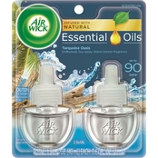 Air Wick Life Scents Turquoise Oasis Scented Oil Air Freshener Refill 2 pk.