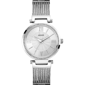 Guess Women's Analog Watch with Rope Wire Strap 30MM U0638L1