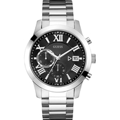 Guess Men's Chronograph with Stopwatch Function and Date U0668G3