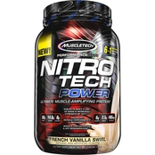 MuscleTech Nitro Tech Power French Vanilla Swirl 2 lb.