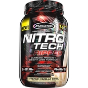 MuscleTech Nitro Tech Ripped French Vanilla Swirl 2 lb.