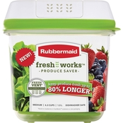 Rubbermaid FreshWorks 6.3 Cup Produce Saver