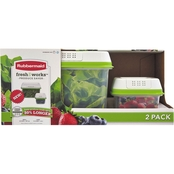 Rubbermaid FreshWorks 2 Pc. Produce Saver Set