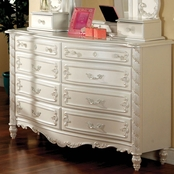 Furniture of America Victoria 8 Drawer Dresser