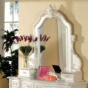 Furniture of America Victoria Mirror with Jewelry Drawers