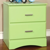 Furniture Of America Prismo 2 Drawer Nightstand