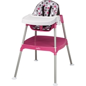 Evenflo Convertible 3-in-1 High Chair, Dottie Rose