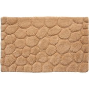 Saffron Fabs Pebbles 34 x 21 Bath Rug