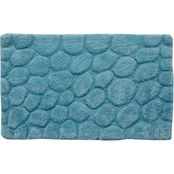 Saffron Fabs Pebbles 2 Pc. Bath Rug Set, 24 x 17 and 34 x 21