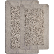 Saffron Fabs Lima 2 Pc. Bath Rug Set, 24 x 17 and 34 x 21