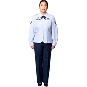 Brooks Brothers Premier Air Force Uniform Shirt for Women